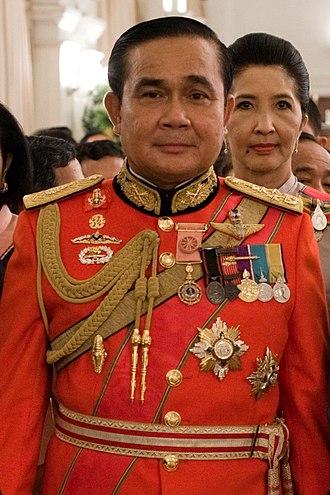 Prayut Chan-o-cha - Prayut in Royal Guards uniform, 2011