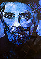Premio Príncipe de Asturias de las Artes 2013 Mickael Haneke. 116 x 81 cm. Técnica luz negra sobre lienzo.jpg