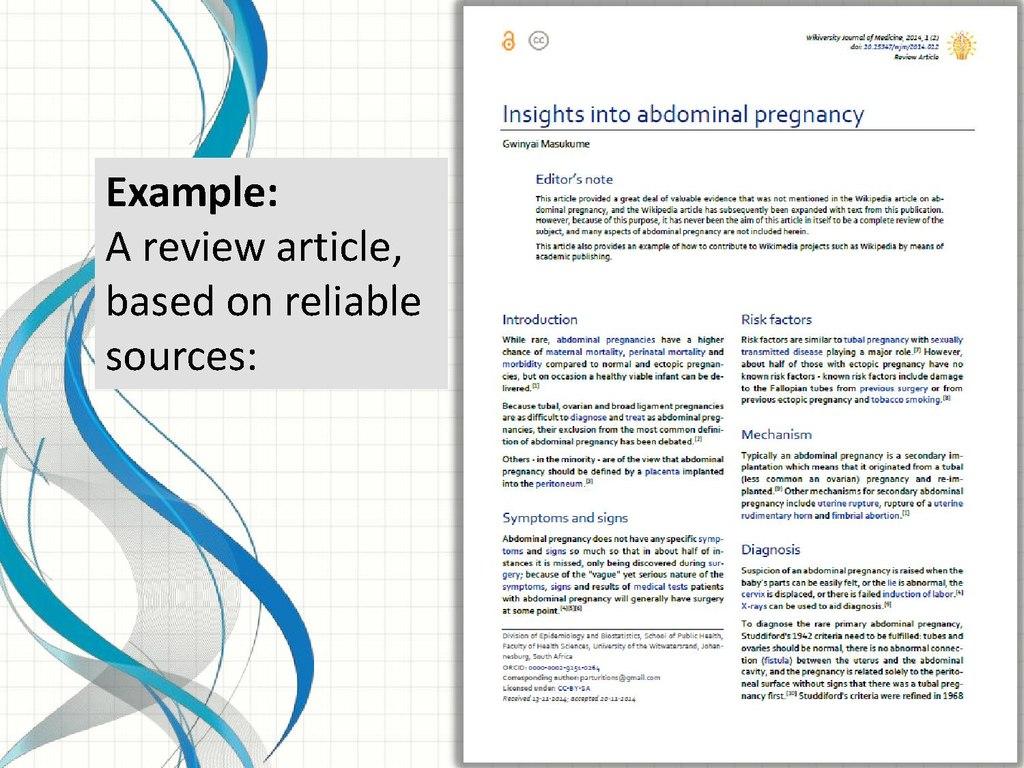 File:Presentation - WikiJournal of Medicine - WikiConference India