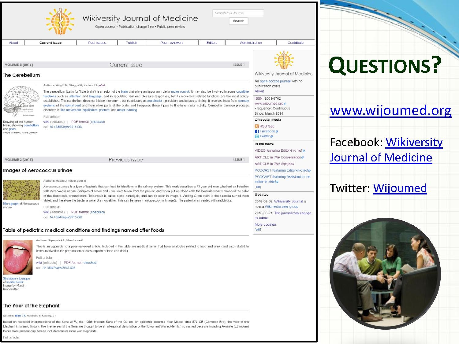 Dateipresentation Wikijournal Of Medicine Wikiconference India