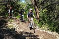 President Bush hosts wounded service members on Mountain Bike Ride 150501-A-AF730-511.jpg