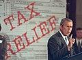 President George W. Bush speaks to the U.S. Chamber of Commerce.jpg