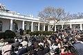 President Trump Delivers Remarks in the Rose Garden (33231571368).jpg