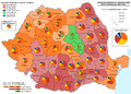 Presidential elections in Romania 2009 Round 1.png