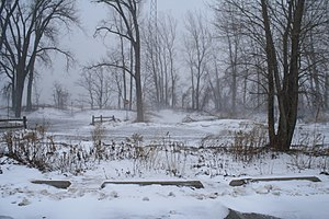 Presque Isle State Park - A winter day at Presque Isle State Park