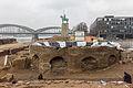 Pressekonferenz zu den archäologischen Grabungen am Rheinboulevard Köln-Deutz-5077.jpg