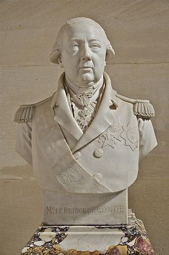 Louis-Pierre Deseine - Louis Joseph, Prince of Condé, bust, 1814, Château de Chantilly
