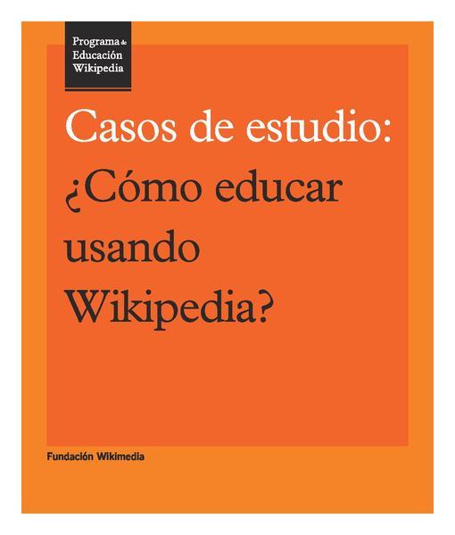File:Programa de Educación Wikipedia - Casos de estudio.pdf