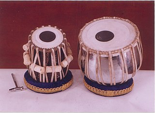 Tabla Indian musical instrument (twin hand drums)