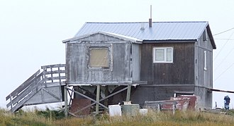 Point Lay, Alaska - A typical residence in Point Lay