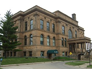 Civic Center Historic District (Des Moines, Iowa) - Image: Public Library Des Moines