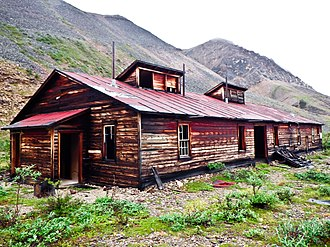 Canol Heritage Trail - Image: Pump Station on the Canol Heritage Trail