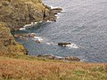 Pyg rock below Hot Point - geograph.org.uk - 121100.jpg