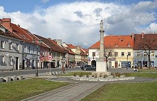 Pyskowice Place in Silesian Voivodeship, Poland