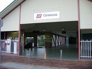 Pimpama, Queensland - Ormeau railway station is the closest rail station