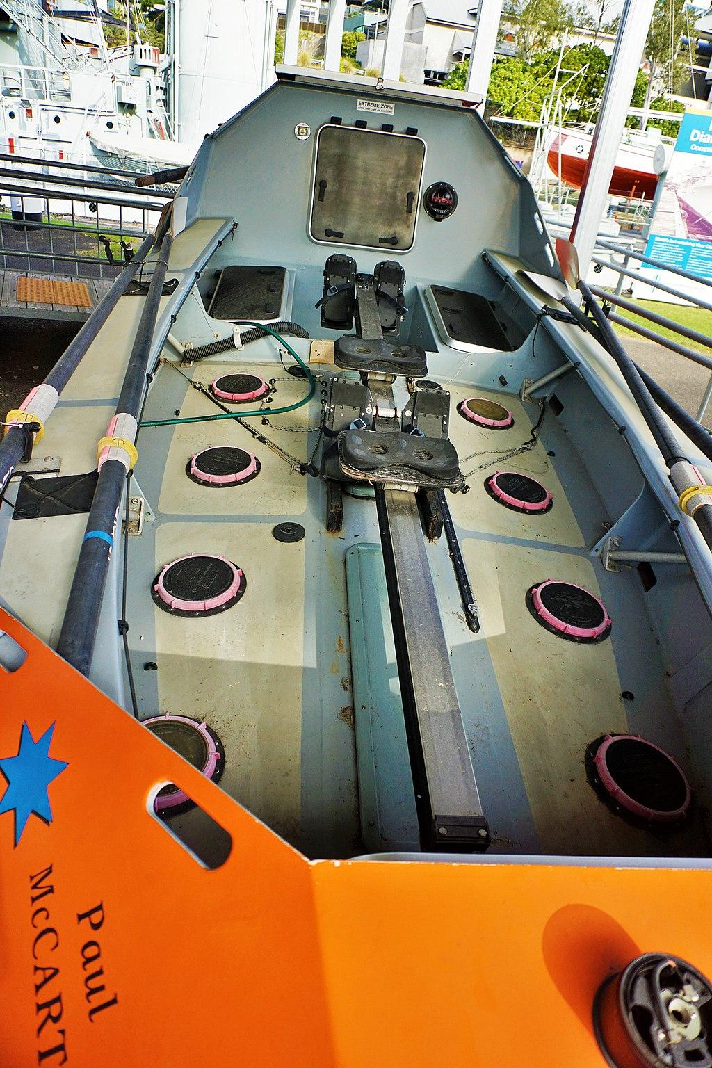 Queensland Maritime Museum - Joy of Museums - Freedom - Atlantic Rowing Race Boat 2