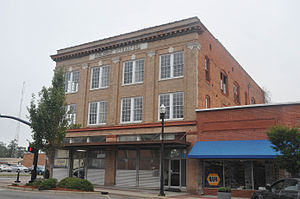 National Register of Historic Places listings in Hoke County, North Carolina - Image: RAEFORD HISTORIC DISTRICT, HOKE COUNTY