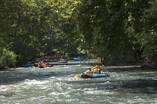 Rafting sur le Jourdain