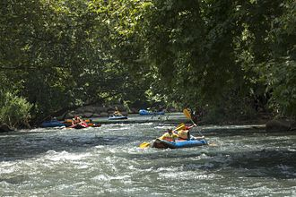 Jordan River - Rafting on Jordan River, Northern Galilee