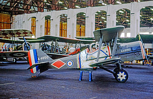 Darling Lili - Slingsby Aircraft-built SE.5A scale replica during filming in Ireland in 1967