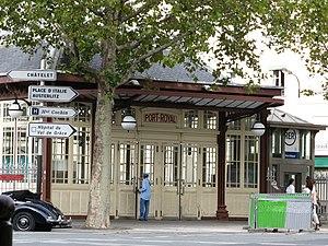 Gare de Port-Royal - Port-Royal Entrance