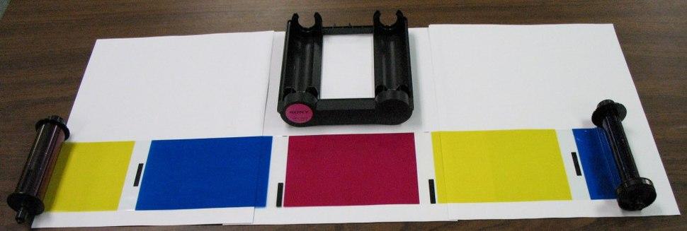 RGB dye sublimation panels