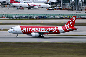 AirAsia Zest - AirAsia Zest Airbus A320-232 at Incheon International Airport