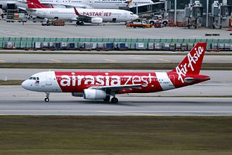 AirAsia Zest - AirAsia Zest Airbus A320-232 at Incheon International Airport