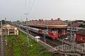 RZD EP2K-235 Malaya Vishera station, near 1851 building (28487226395).jpg