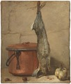 Rabbit and Copper Pot (Jean Siméon Chardin) - Nationalmuseum - 17788.tif