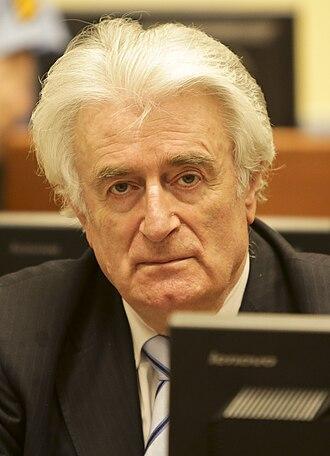 Radovan Karadžić - Radovan Karadžić in March 2016