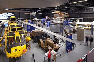 Aviation museum in London