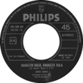 Ragazzo solo, Ragazza sola by David Bowie Italian vinyl single.png