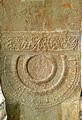 Railing Pillars with Amaravati Art at Velpuru Ramalingeswara Temple 01.jpg