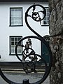 Railings in Fore Street, Moretonhampstead - geograph.org.uk - 1395270.jpg