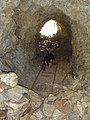 Rails de la mina abandonada (agost 2006) - panoramio - EliziR (1).jpg