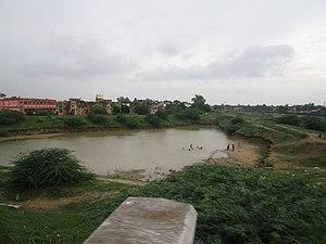 Raja ki mandi - A lake at Raja ki mandi