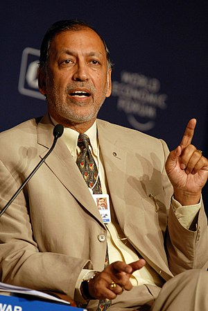 Rajendra Singh Pawar - Pawar at the World Economic Forum's India Economic Summit 2008.
