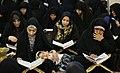 Ramadan 1439 AH, Qur'an reading at Fatima Masumeh Shrine, Qom - 17 May 2018 13.jpg