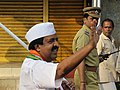 Ramesh Chennithala during a march at Kanhangad.jpg