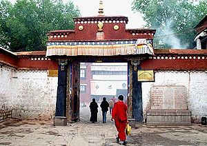 Ramoche Temple - Gate of the Ramoche Temple