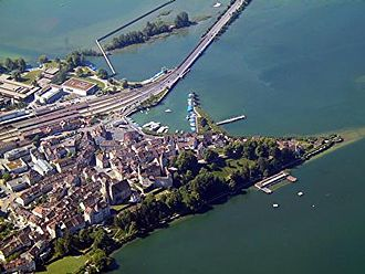 Rapperswil-Jona - Rapperswil from the air