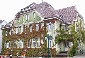 Brunsbüttel - Town hall in Brunsbüttel