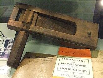 Ratchet (instrument) - Image: Rattle, Ludlow Museum DSCF2033