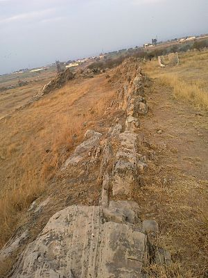 Geology of Pakistan - Rawat Fault line near Islamabad