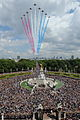 Red Arrows Fly Over Buckingham Palace MOD 45150268.jpg