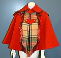 Red Wool Cape of Clara and Mary Mitchell.jpg