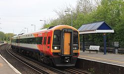 Redbridge - SWT 158889 Salisbury service.JPG