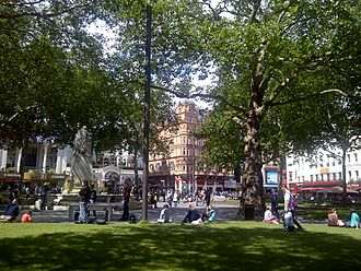 Leicester Square - Leicester Square in 2012, following redevelopment