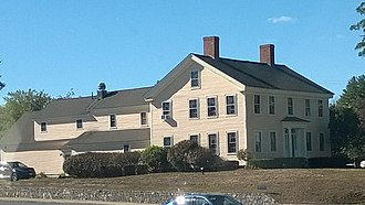 Matthew Thornton - Thornton's old inn which he ran with his wife Hannah Jack, whom he married in 1760, in Merrimack, New Hampshire. It is located across from his gravesite and close to the former Thornton's Ferry landing site, which he also ran with his wife